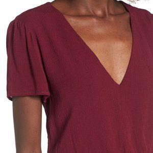 NWT - WAYF Blouson Midi Dress